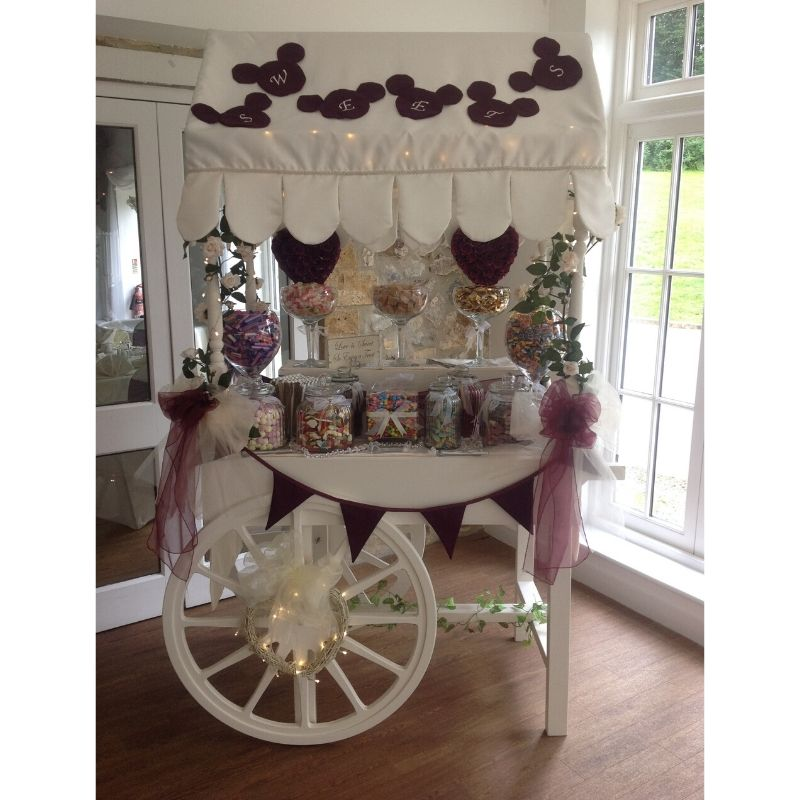 Candy Bees Sweet Cart Hire Somerset
